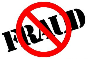 Be careful of fraudulent suppliers