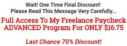70% Final Discount