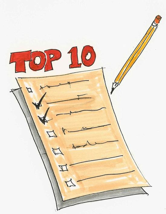 Make a Top 10 List