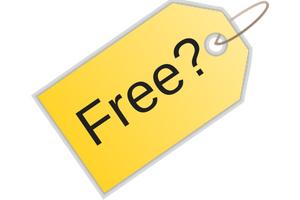 Free? Sales Tag