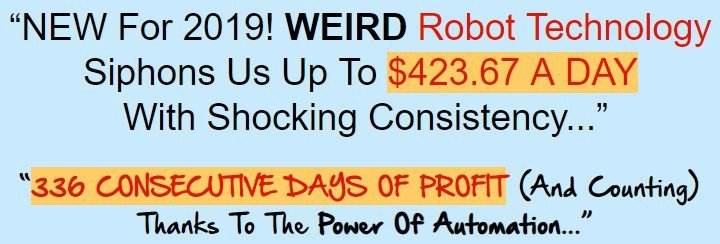 Auto Chat Profits–Scam or Make Insane Money With Robot Technology?
