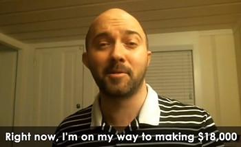 Video testimonial image