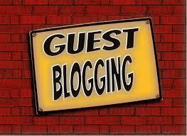 Guest Blogging sign